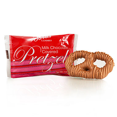 Pretzels - Individual Milk Chocolate