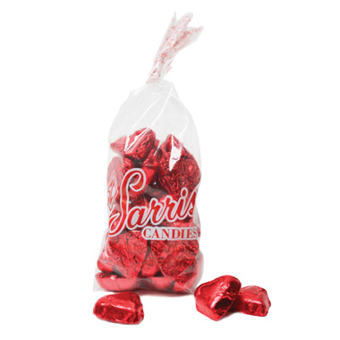 Foiled Red Hearts Bag 8 oz.